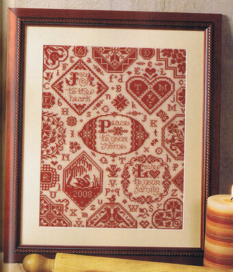Simple Blessings Sampler - Cross Stitch Pattern