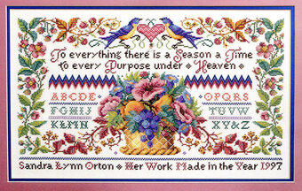 Traditional Sampler - Cross Stitch Pattern