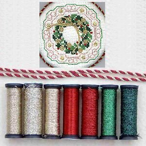 Metallic Thread Gift Collection - Christmas