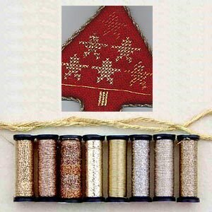 Metallic Thread Gift Collection - Gold