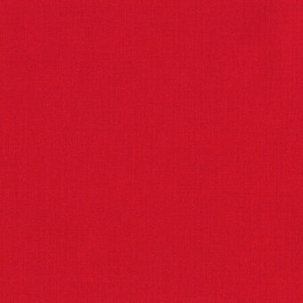 Kona Solid 100% Cotton Fabric Half Yard - Red