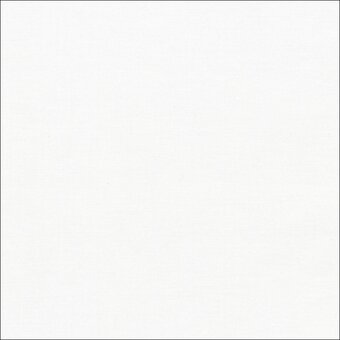 Kona Solid 100% Cotton Fabric Half Yard - White