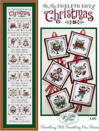 On The Twelfth Day Of Christmas - Cross Stitch Pattern