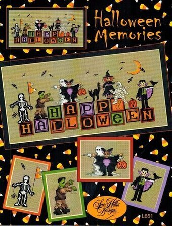 Halloween Memories - Cross Stitch Pattern