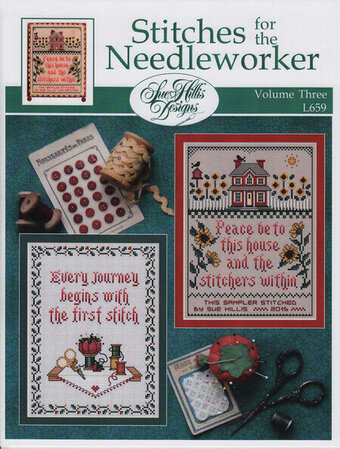 Stitches For the Needleworker - Vol 3 - Cross Stitch Pattern