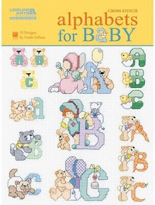 Alphabets For Baby - Cross Stitch Pattern