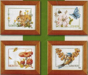 Four Seasons by Marjolein Bastin - Cross Stitch Kit