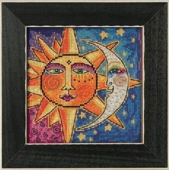 Sister Sun Brother Moon - Cross Stitch Kit