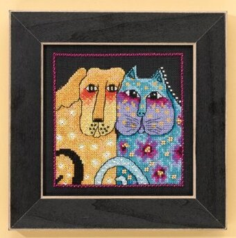 Fur-ever Friends (Aida) - Cross Stitch Kit