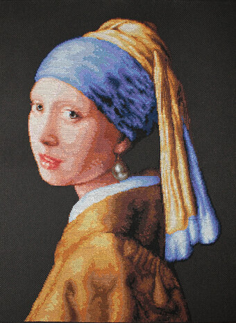 Girl with a Pearl Earring - Cross Stitch Kit