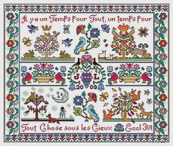Quatre Saisons - Cross Stitch Pattern