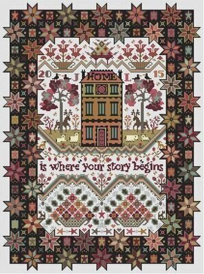 Spangled - Cross Stitch Pattern