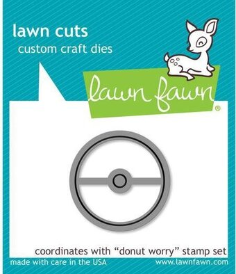 Donut Worry - Lawn Cuts Die