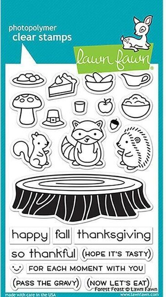 Forest Feast - Clear Stamp