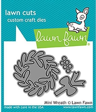 Mini Wreath - Christmas Lawn Cuts Die