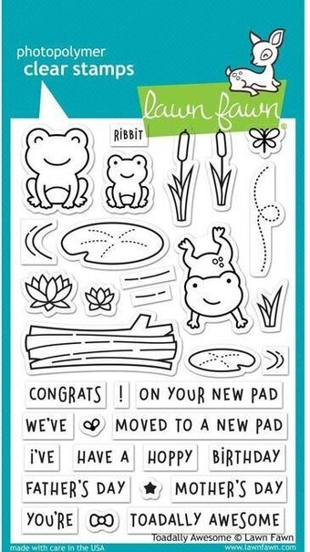 Toadally Awesome - Clear Stamp