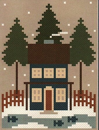 Sea to Shining Sea - The Mountains - Cross Stitch Pattern