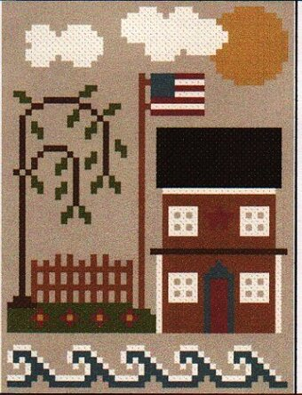 Sea to Shining Sea - The East Coast - Cross Stitch Pattern