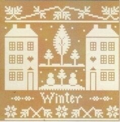 Winter - Monochromatic Series - Cross Stitch Pattern