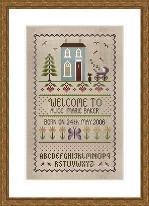 New Baby - Cross Stitch Pattern