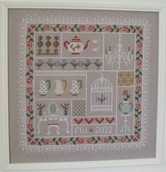 Shabby Chic - Cross Stitch Pattern
