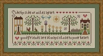 Friendship Sampler - Cross Stitch Pattern