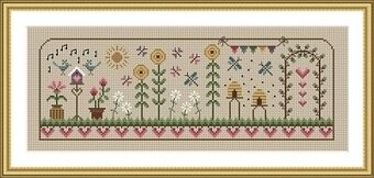 Summer Days - Cross Stitch Pattern