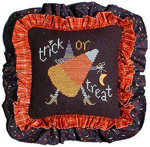 Trick or Treat - Lizzie Kate Halloween Cross Stitch Pattern