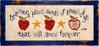 Seeds of Knowledge - Cross Stitch Pattern