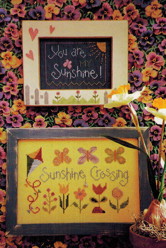 Sunshine Crossing - Cross Stitch Pattern