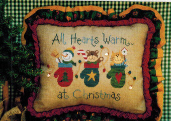 All Hearts Warm at Christmas - Cross Stitch Pattern
