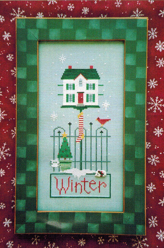 Winter Button Up - Cross Stitch Pattern