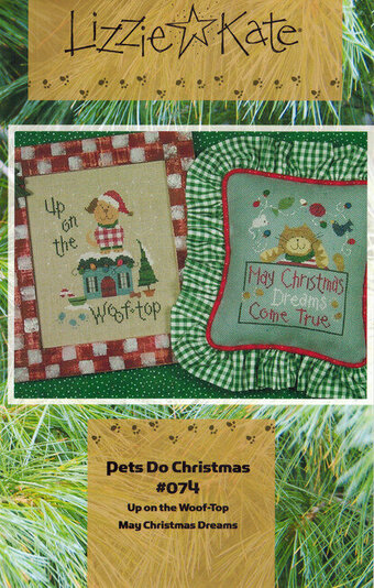 Pets Do Christmas - Cross Stitch Pattern