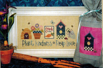 Plant Kindness Reap Love - Cross Stitch Pattern