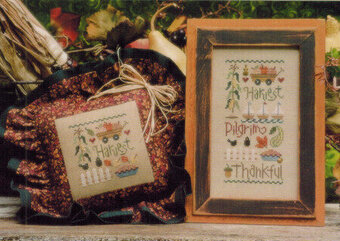 Thankful Sampler - Cross Stitch Pattern