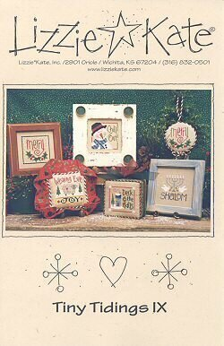 Tiny Tidings IX - Cross Stitch Pattern