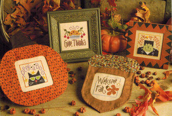 Autumn Things - Cross Stitch Pattern