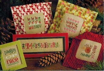 Tiny Tidings XVIII - Cross Stitch Pattern