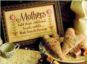 Mothers - Cross Stitch Pattern
