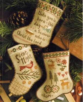 Flora McSample's 2014 Stockings - Cross Stitch Pattern