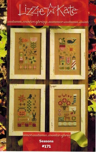 Seasons - Cross Stitch Pattern