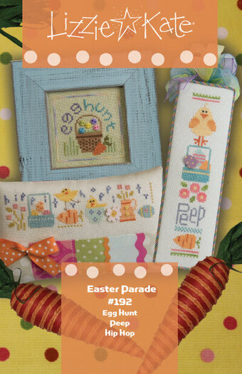 Easter Parade - Lizzie Kate Spring - Cross Stitch Pattern