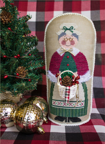 Flossie Claus (with Embellishments) - Cross Stitch Pattern