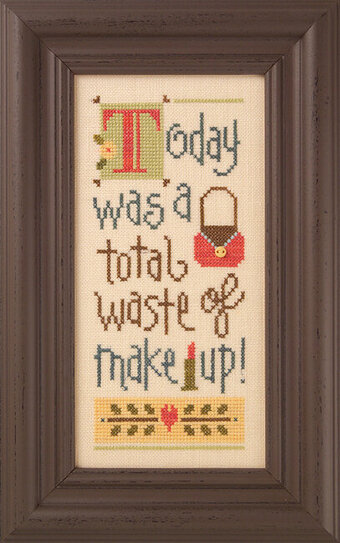 A Total Waste of Make Up - Cross Stitch Kit