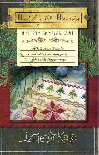 Holly & Hearts Mystery Sampler Part 1 - Cross Stitch Pattern