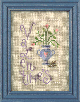 Valentine's Day Flip-It - Cross Stitch Pattern