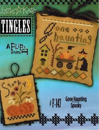 Tingles - Gone Spooky/Haunting - Cross Stitch Pattern