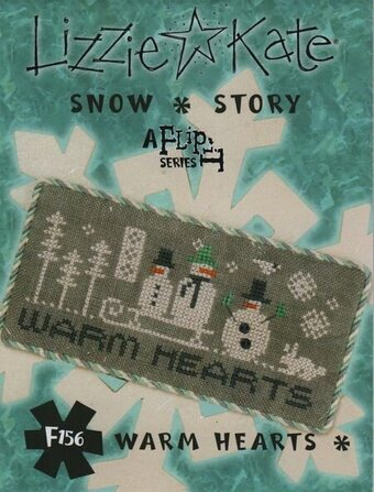 Snow Story - Warm Hearts - Cross Stitch Pattern