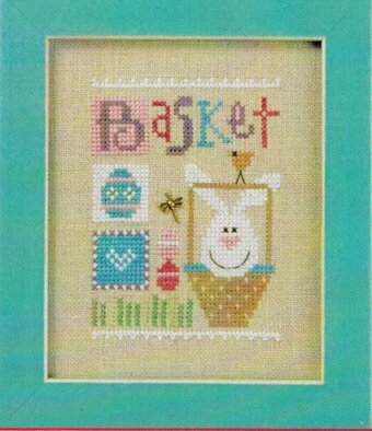 Celebrate with Charm - Basket Flip It - Cross Stitch Pattern