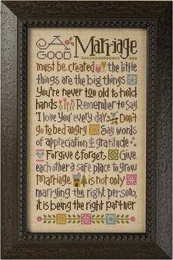 Good Marriage, A - Cross Stitch Kit